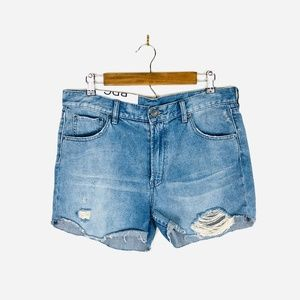 [Urban Outfitters] BDG High Rise Distressed Jean